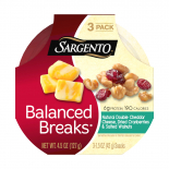 Balanced Breaks® Natural Double Cheddar Cheese with Dried Cranberries and Salted Walnuts