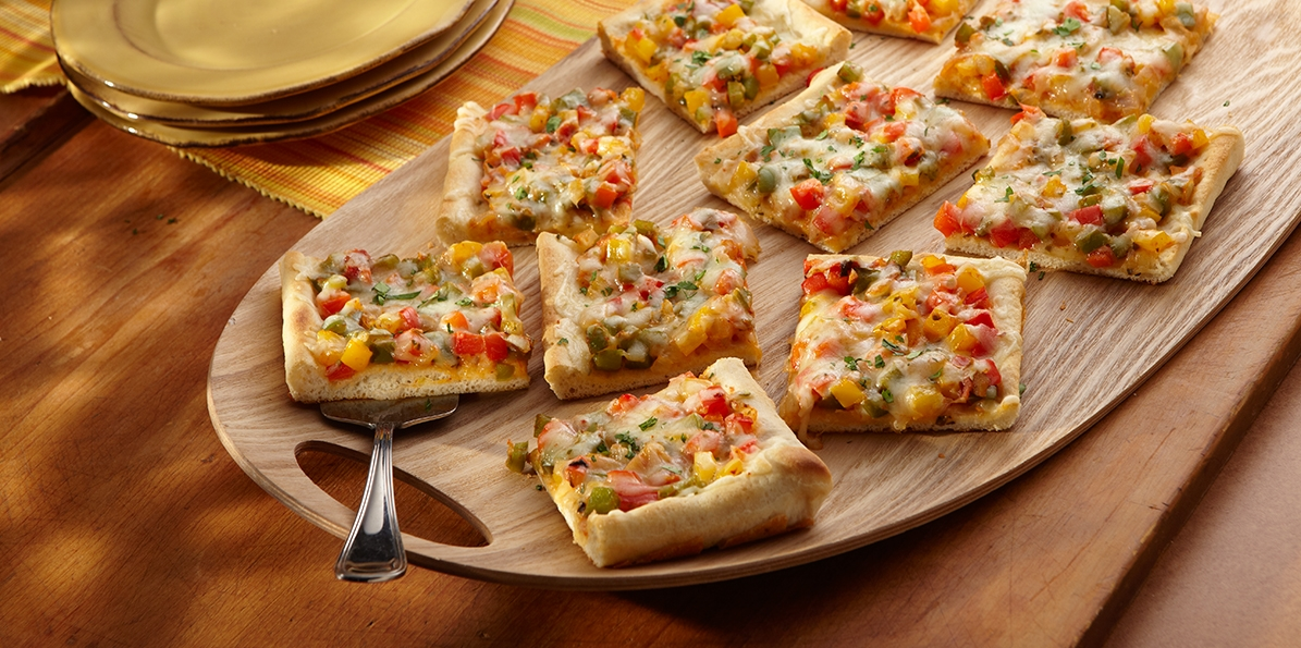 Thin Crust Pepper Jack Pizza