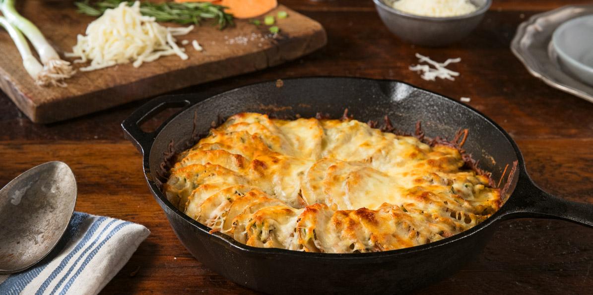 7-Cheese Rosemary Potatoes