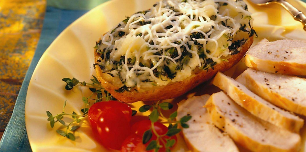 Italian Twice Baked Potatoes