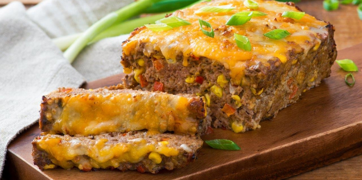 Cheesy Mexican Meatloaf