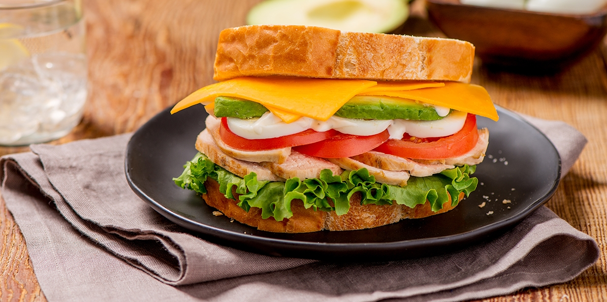 Chicken & Smokehouse Cheddar™ Cobb Sandwich