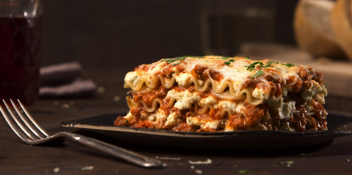 Quick Bolognese Lasagna