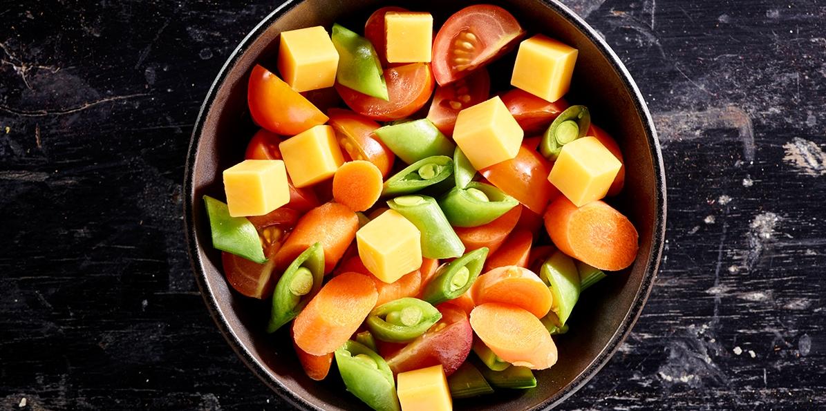 Veggie Snackin' Salad
