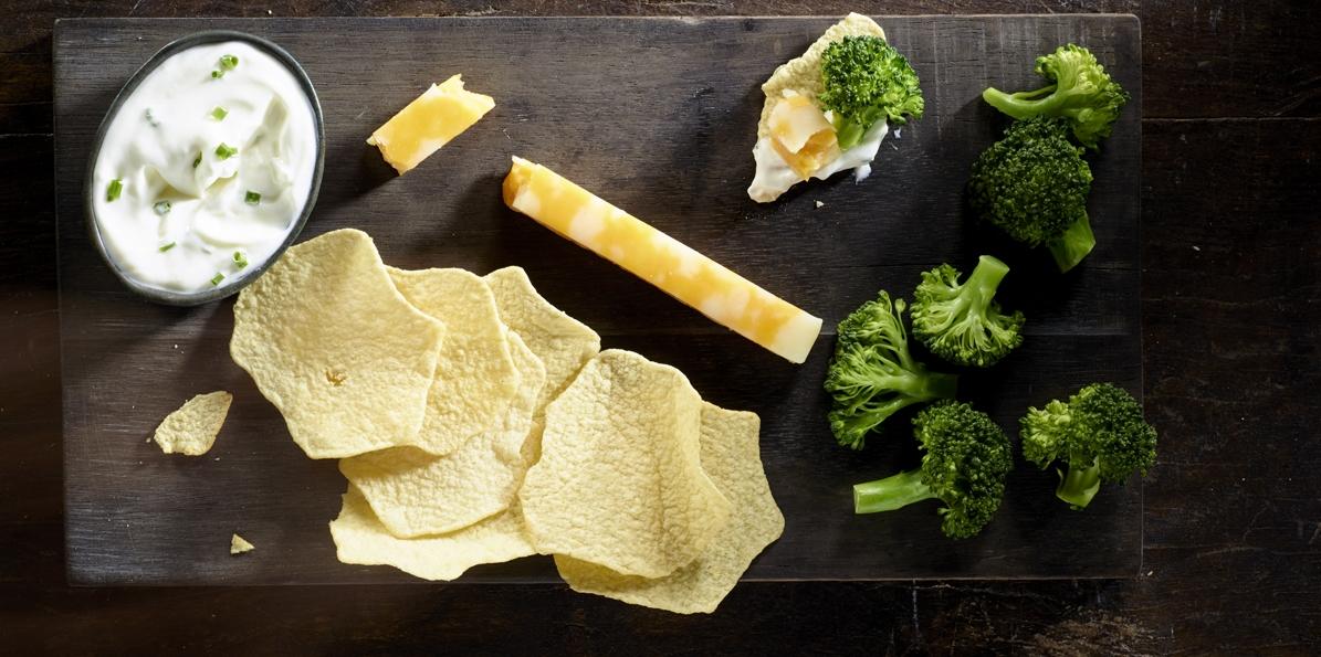 Cheesey Broccoli Baked Potatoes