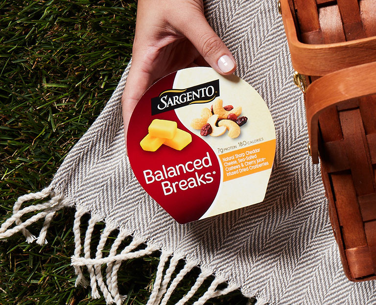 For all you whenever, wherever snackers, there's Balanced Breaks®