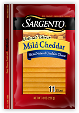 Mild Cheddar Slices package