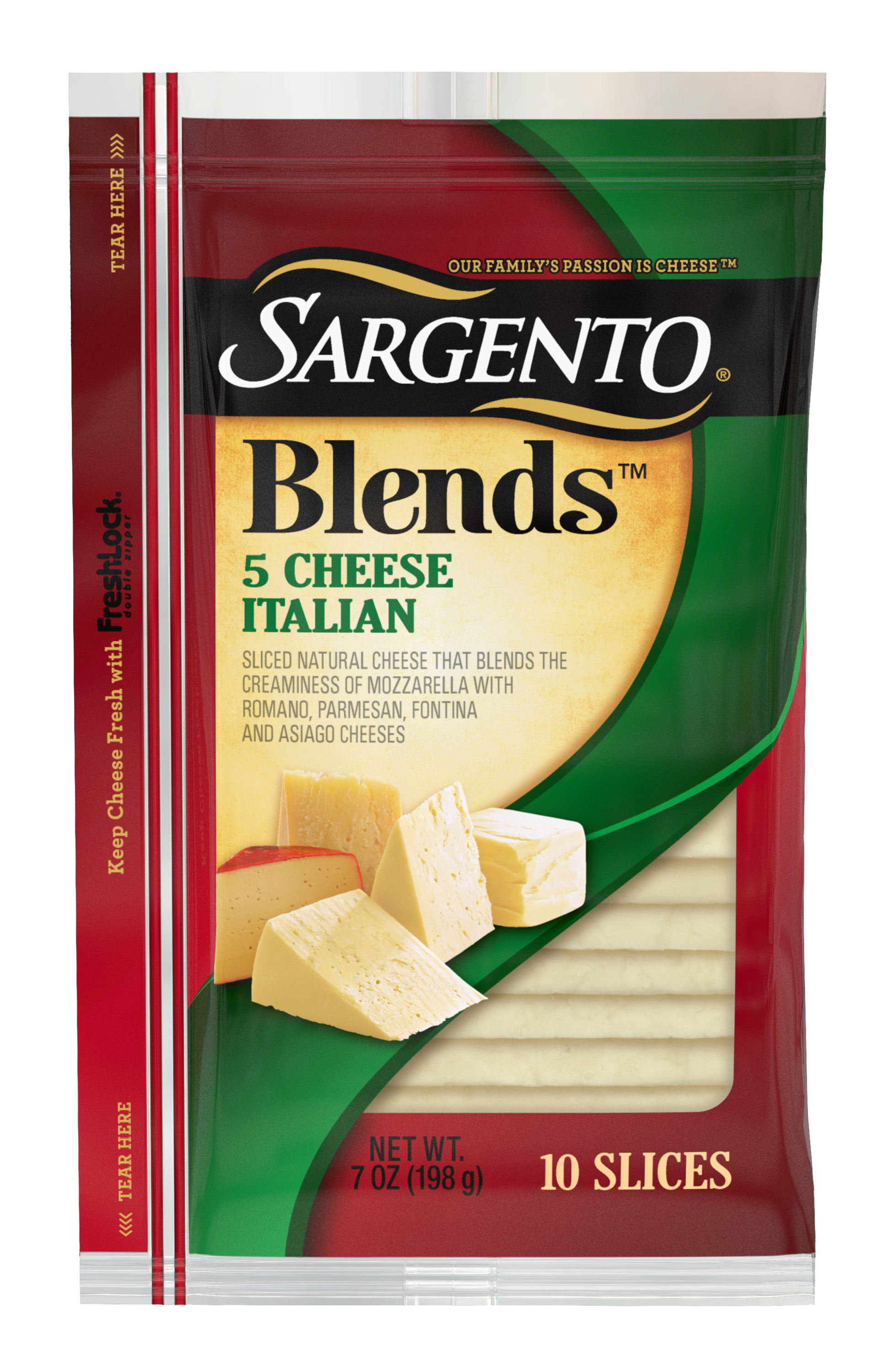 Sargento® Blends™ 5 Cheese Italian Slices