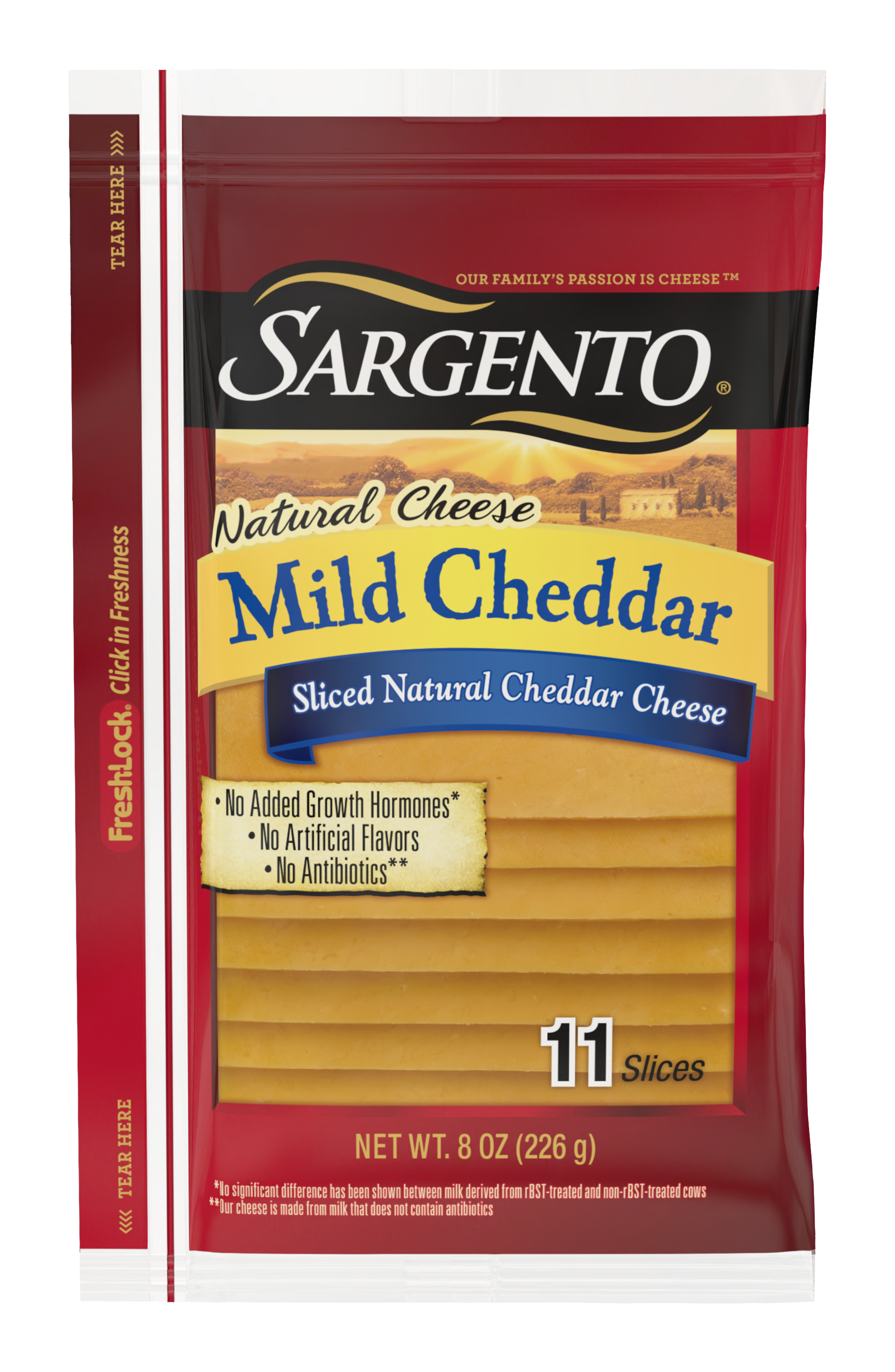Sargento® Sliced Mild Natural Cheddar Cheese