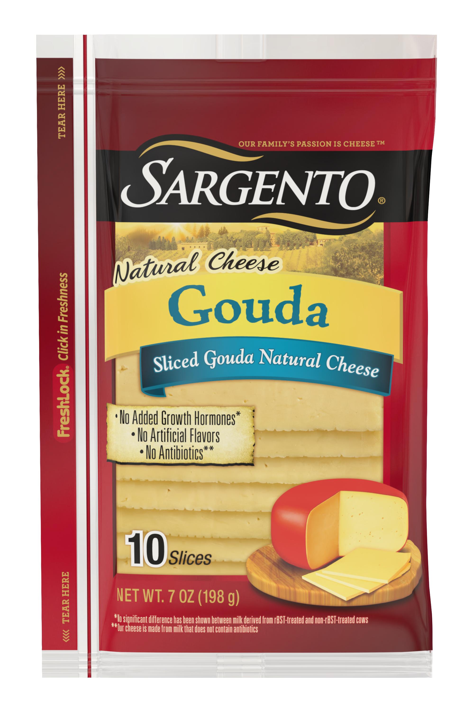 Sargento® Sliced Gouda Natural Cheese
