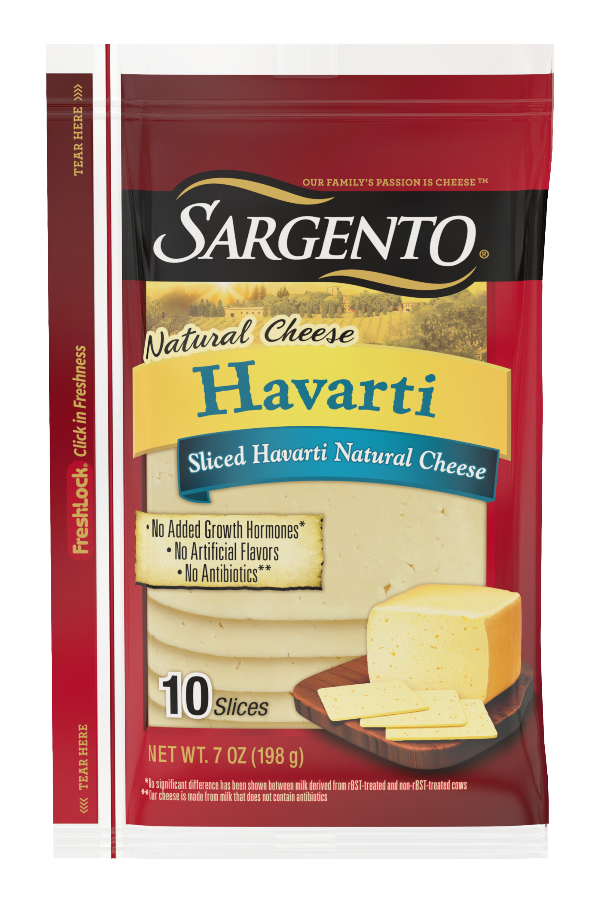 Sargento® Sliced Havarti Natural Cheese