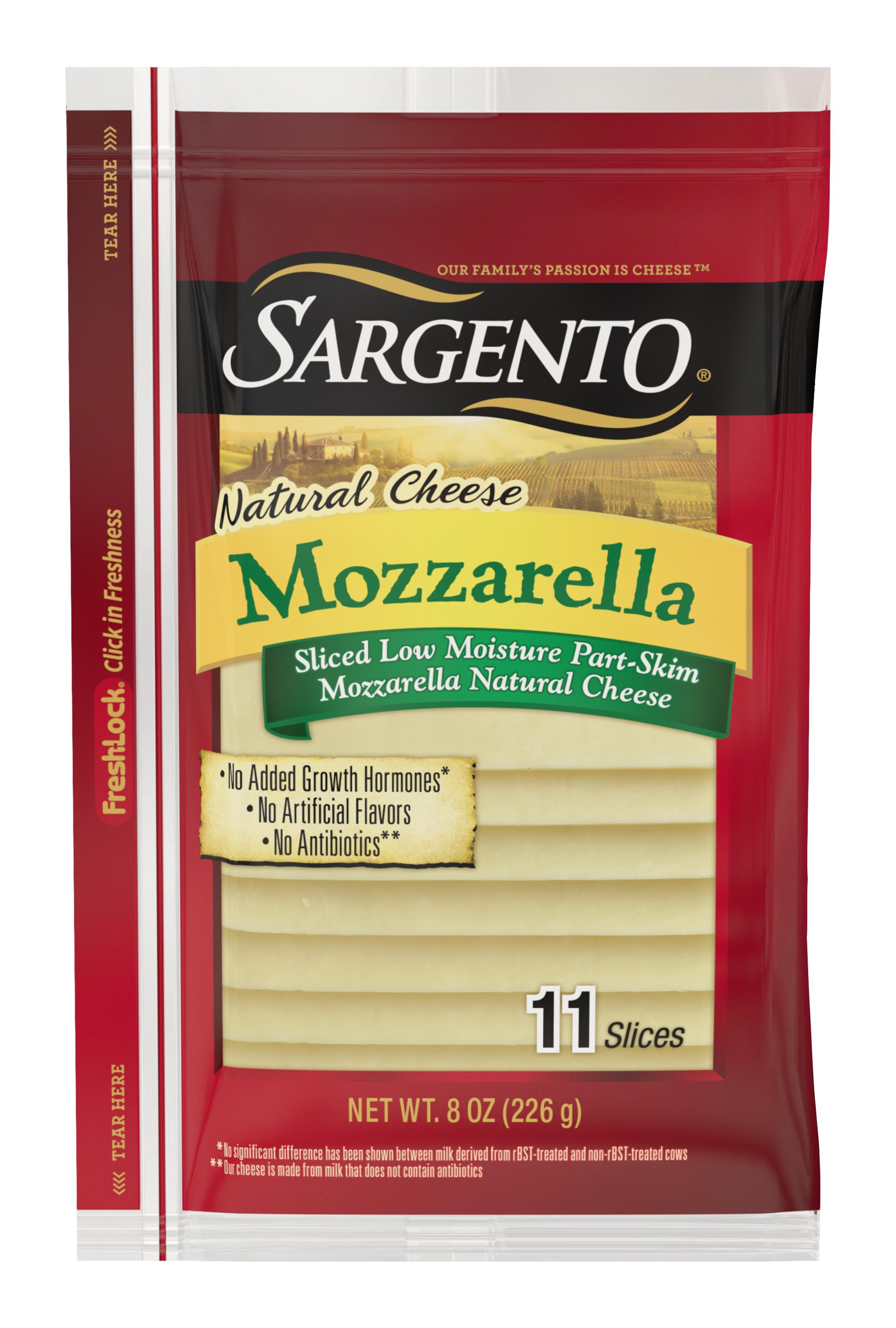 Sargento® Sliced Mozzarella Natural Cheese