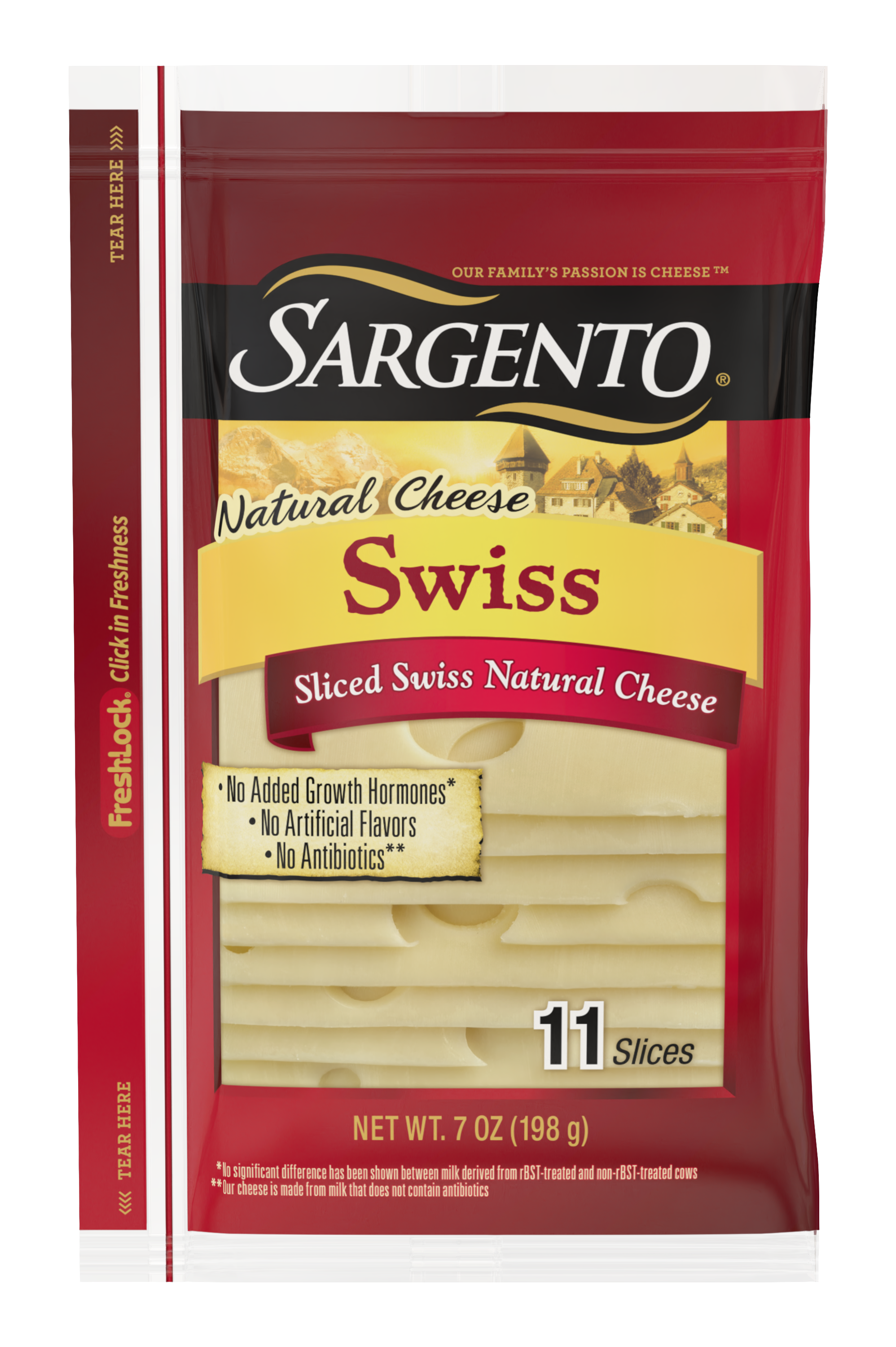 Sargento® Sliced Swiss Natural Cheese