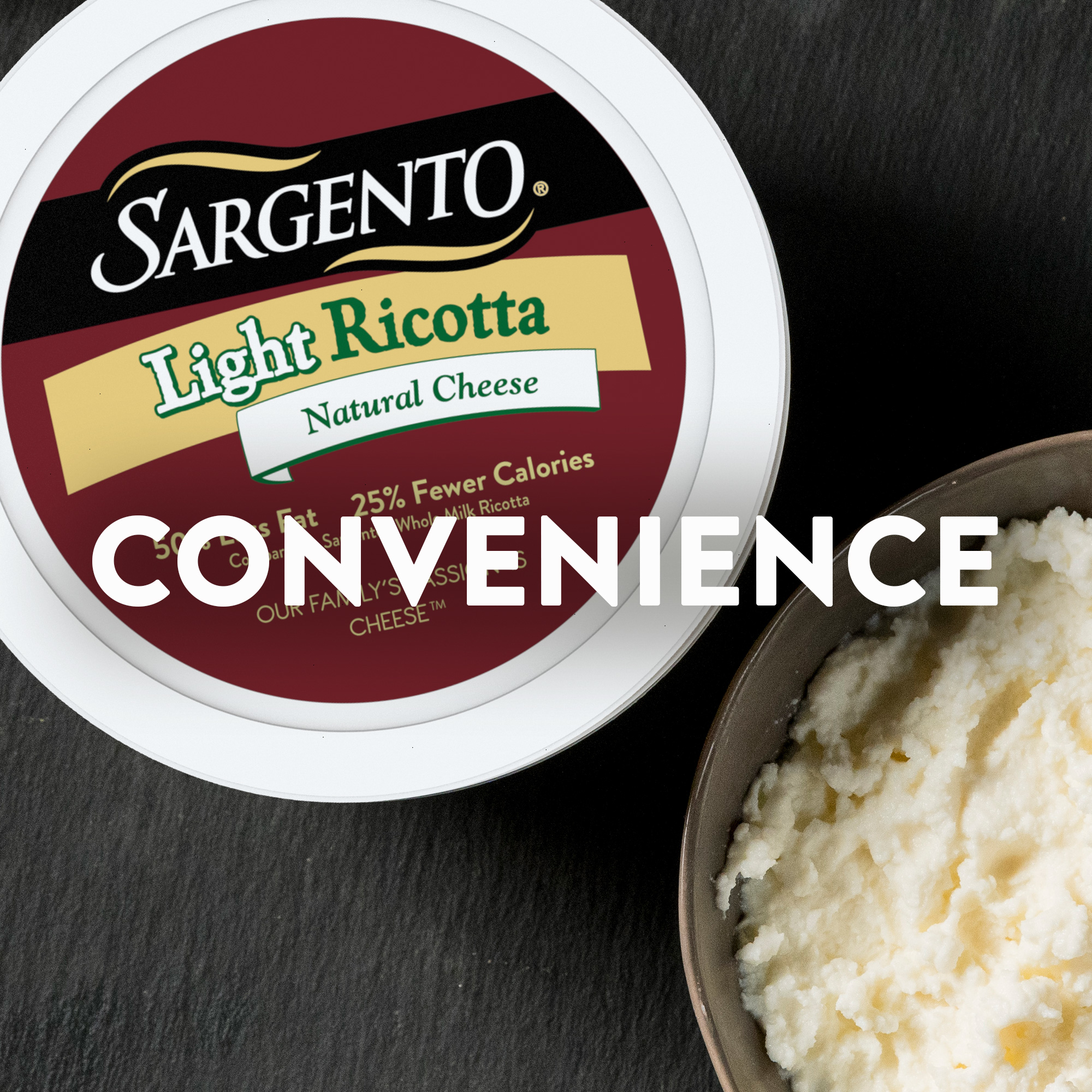 Sargento® Light Ricotta Natural Cheese