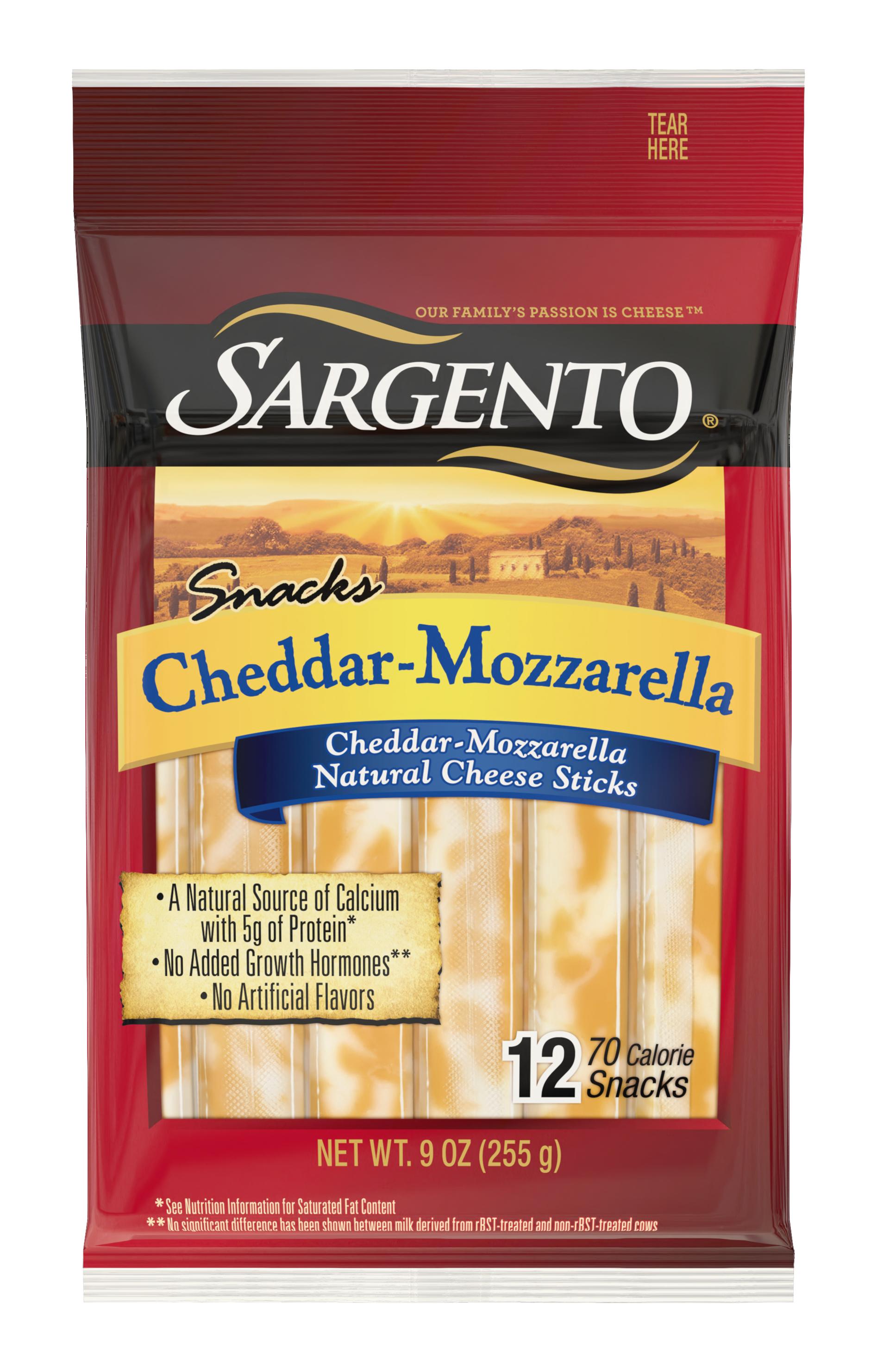 Sargento® Cheddar-Mozzarella Natural Cheese Snack Sticks