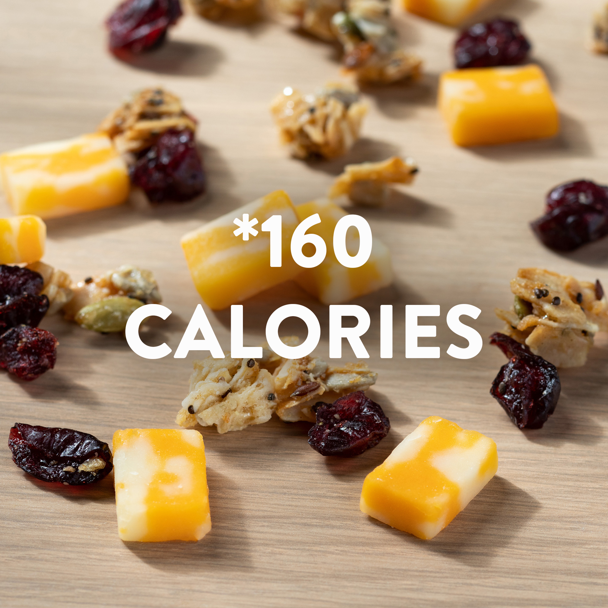 Sargento® Sunrise Balanced Breaks®, Colby-Jack Natural Cheese, Coconut Clusters with Seed Medley, and Dried Cranberries