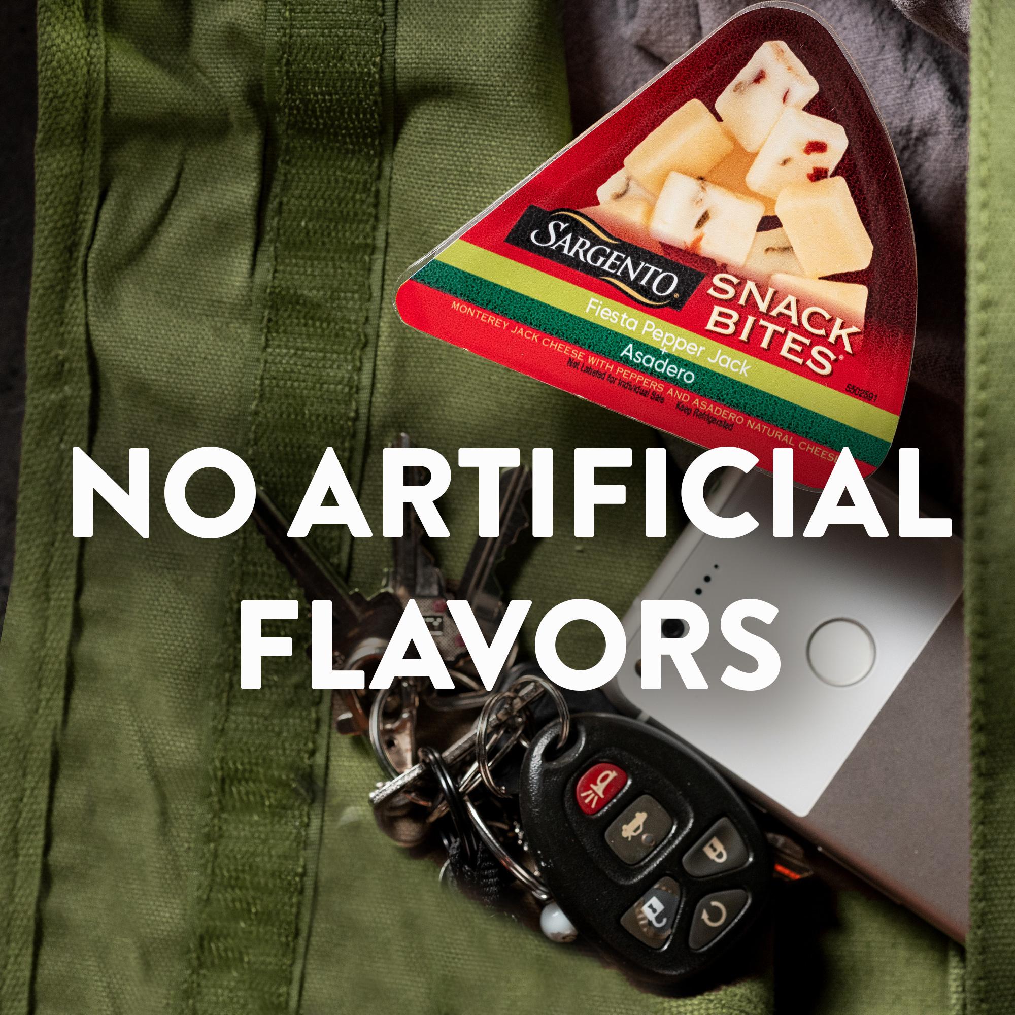 Sargento® Snack Bites® Fiesta Pepper Jack + Asadero Natural Cheeses