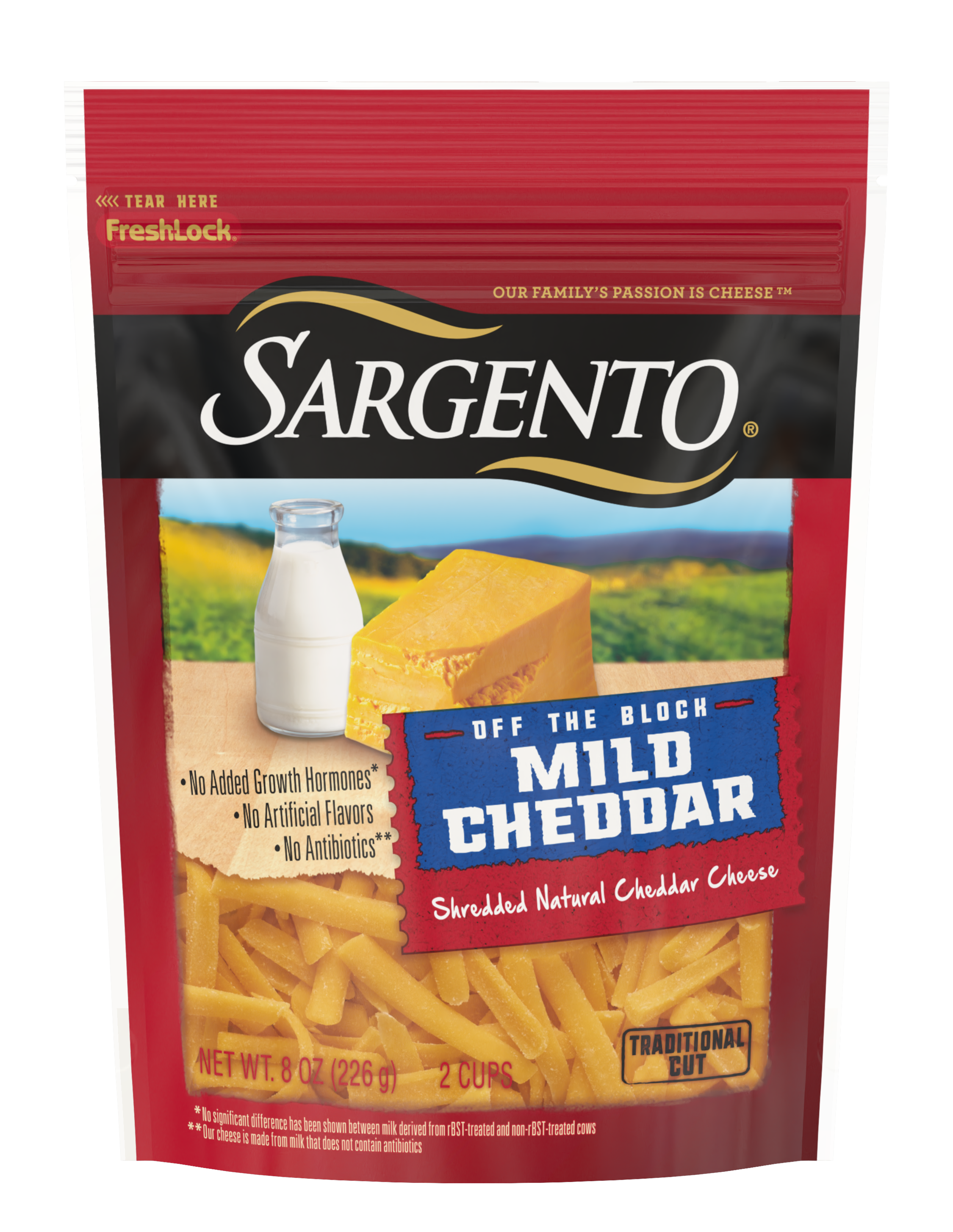 Sargento® Shredded Mild Natural Cheddar Cheese