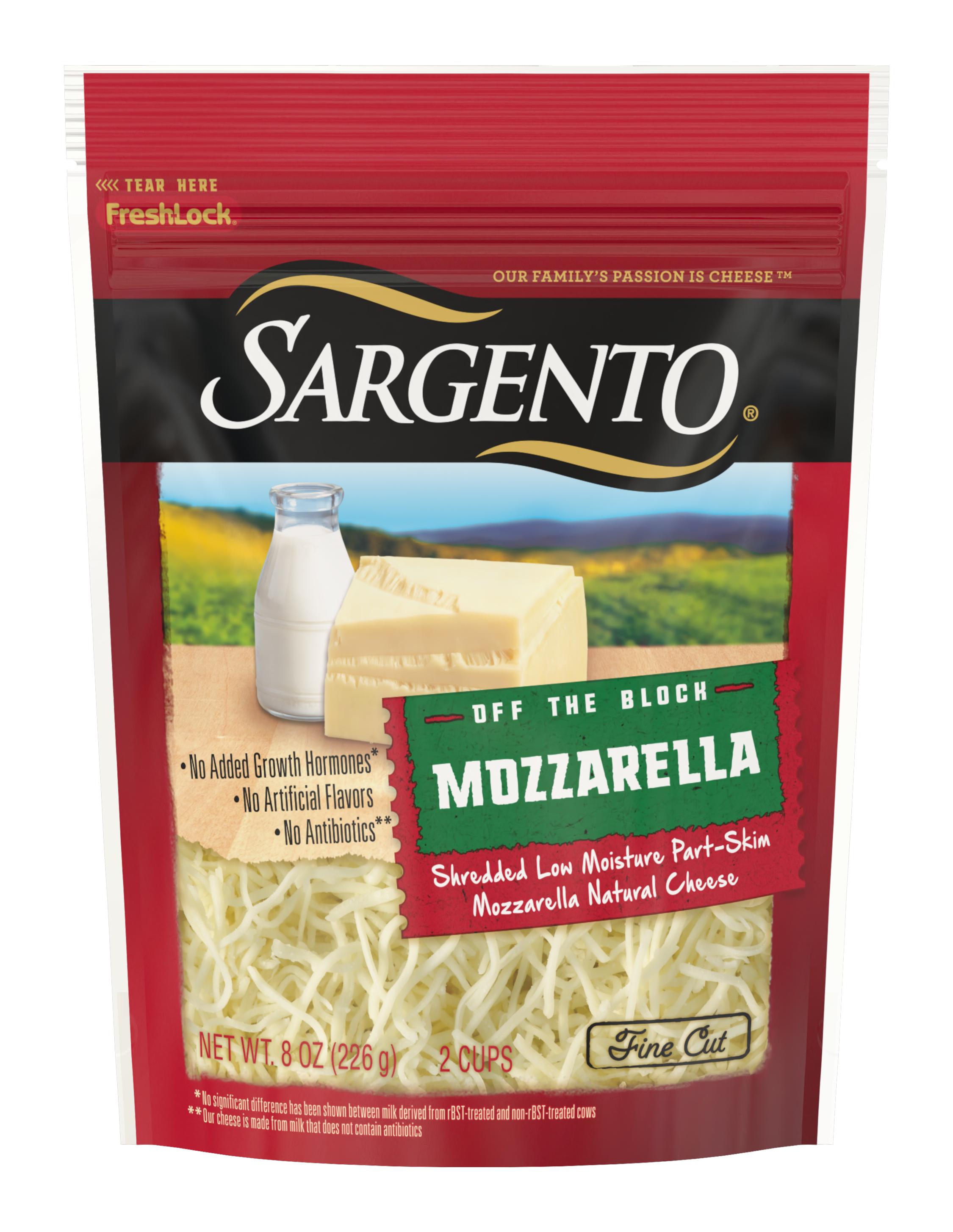 Sargento® Shredded Mozzarella Natural Cheese, Fine Cut