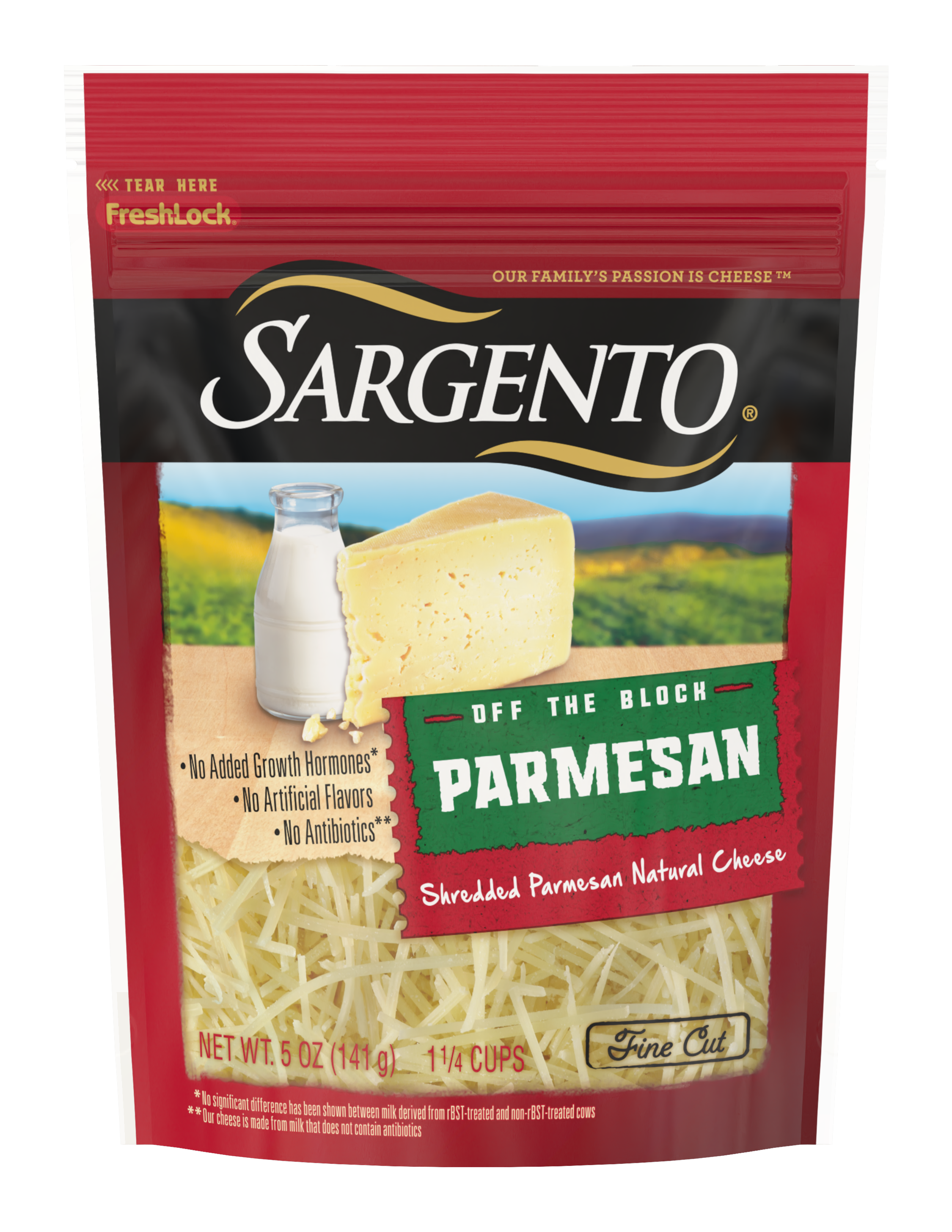 Sargento® Shredded Parmesan Natural Cheese