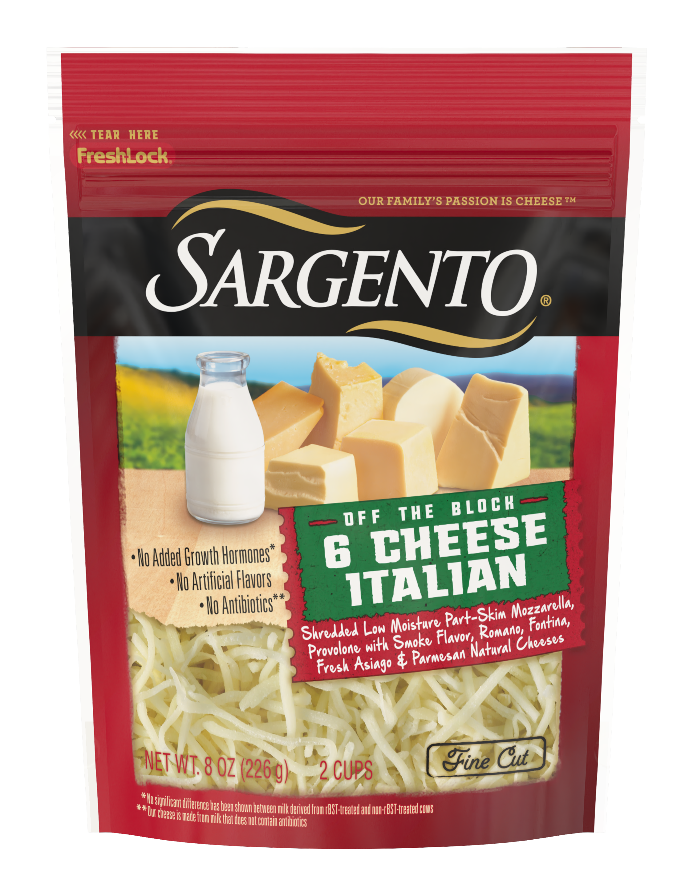 Sargento® Shredded 6 Cheese Italian Natural Cheese