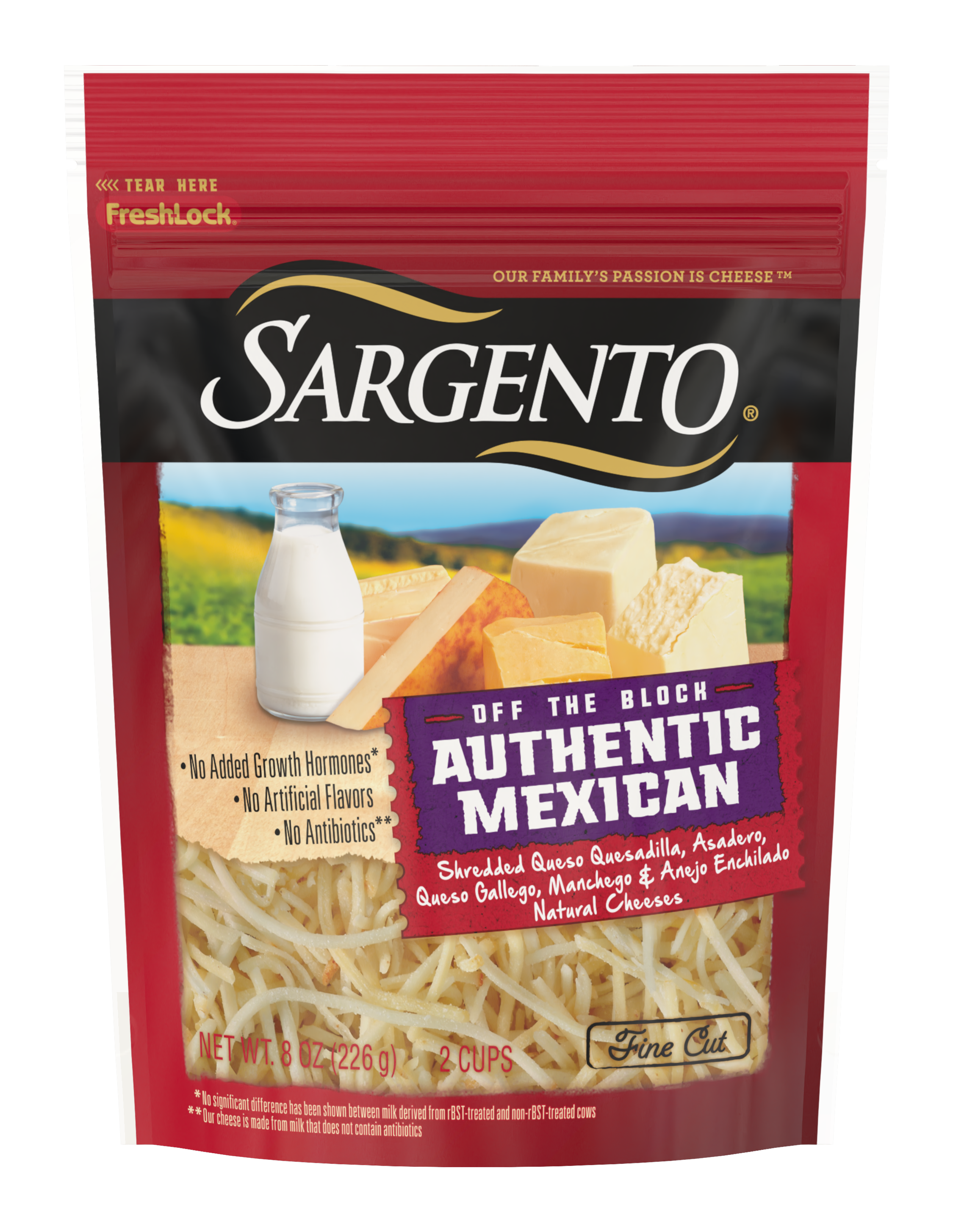 Sargento® Shredded Authentic Mexican Natural Cheese