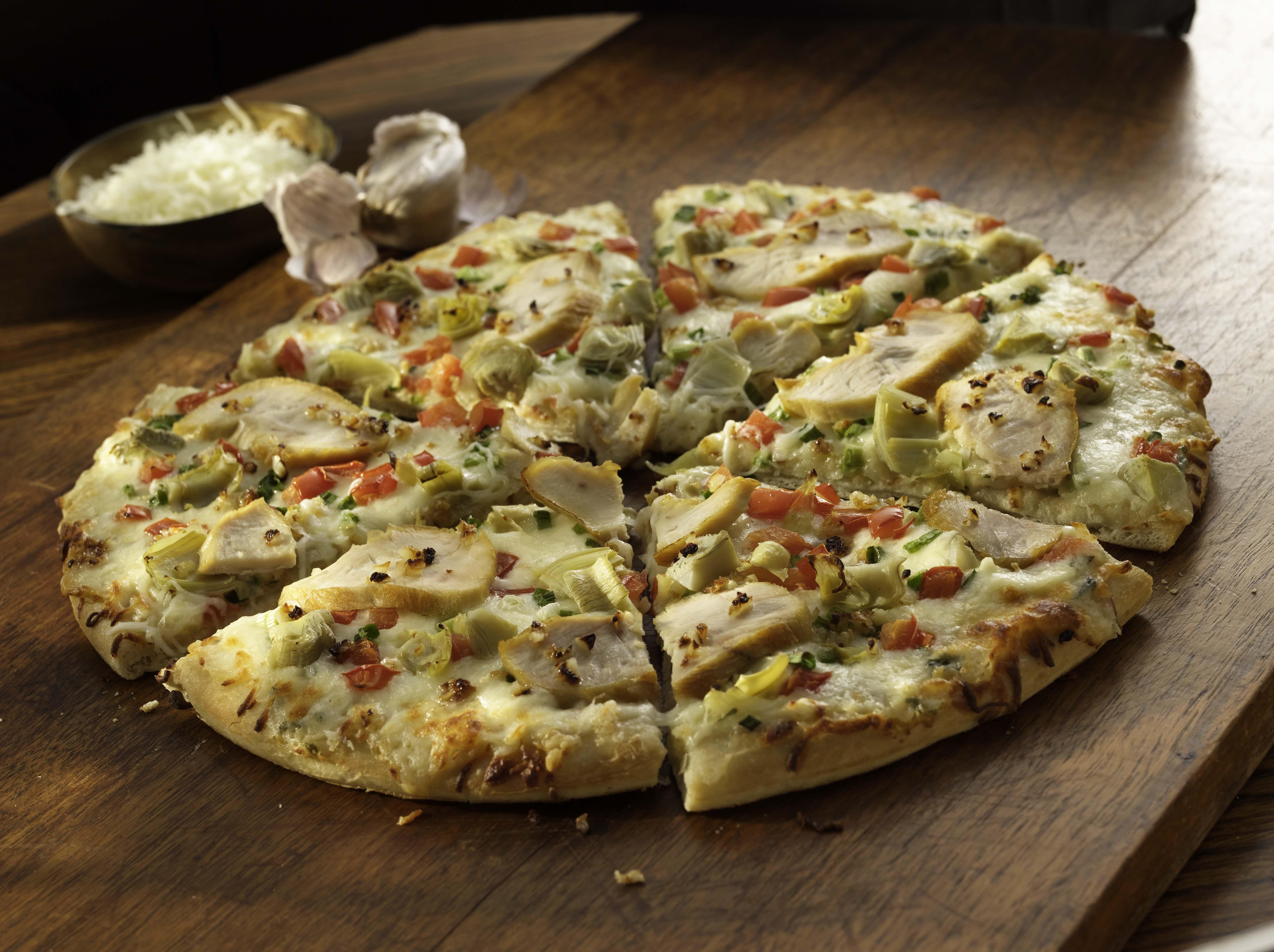 White Garlic Pizza Recipe Sargento 174 Shredded Parmesan Cheese