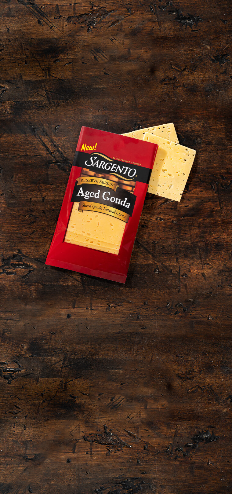 reserve series™ shredded 6-month aged gouda