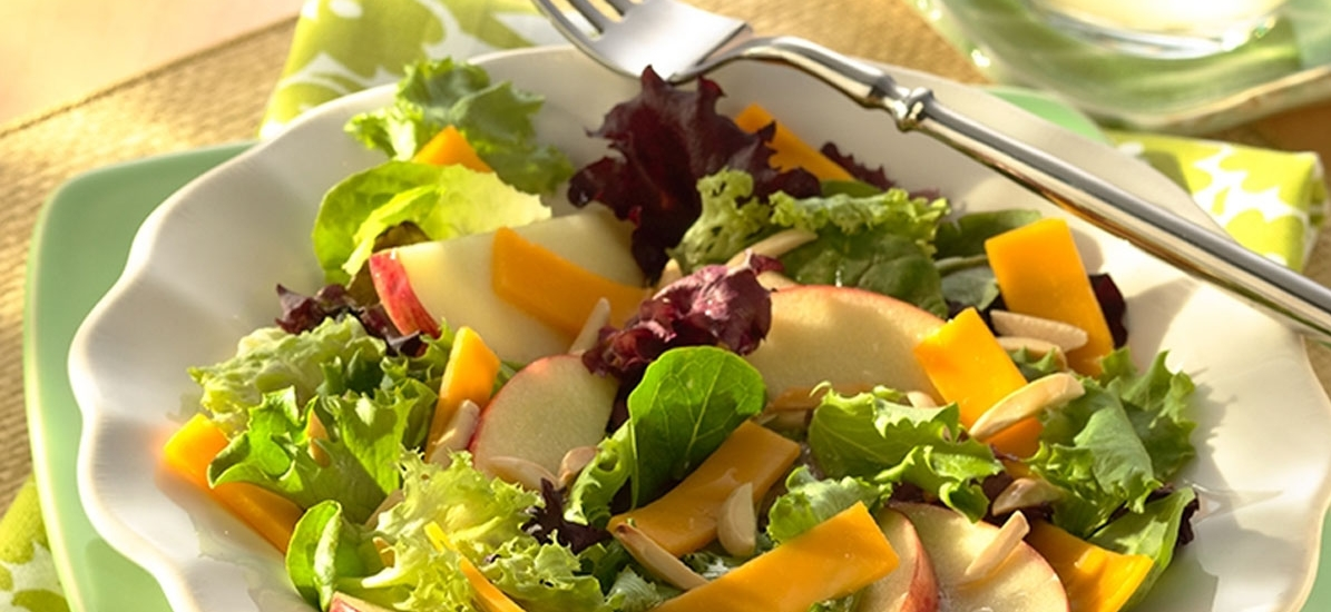 Apple Cheddar Salad