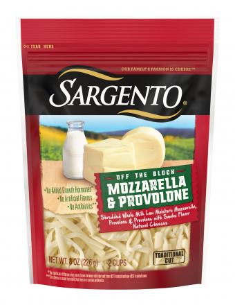 Sargento® Shredded Mozzarella & Provolone Cheese