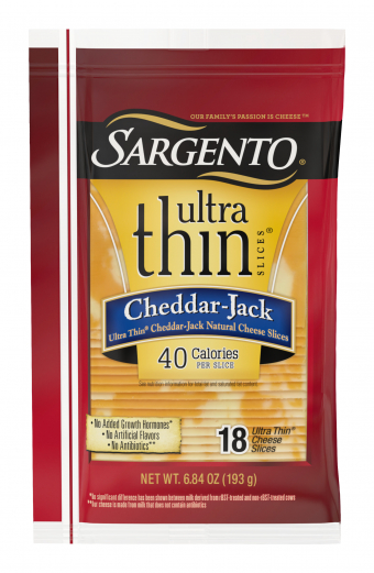 Sargento® Cheddar-Jack Natural Cheese Ultra Thin® Slices
