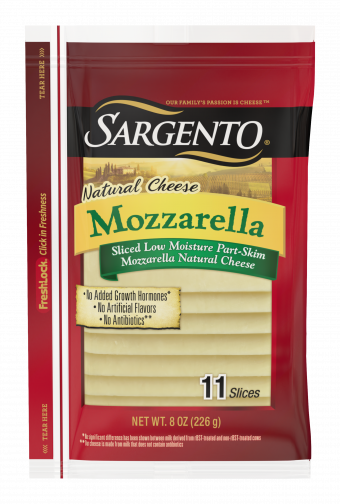 Sargento® Sliced Mozzarella Natural Cheese