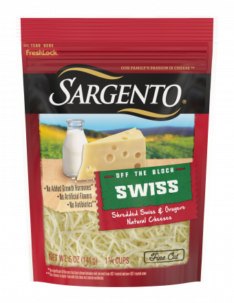 Sargento® Shredded Swiss Natural Cheese