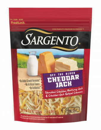 Sargento® Shredded Cheddar Jack Natural Cheese