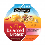 Sargento® Sunrise Balanced Breaks® with Colby-Jack Natural Cheese, Coconut Clusters with Seed Medley, and Dried Cranberries