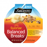 Sargento® Sunrise Balanced Breaks® with Monterey Jack Cheese, Walnut Oat Granola with Dark Chocolate, and Golden Raisins