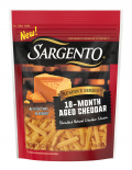 Sargento® Reserve Series™ Shredded 18-Month Aged Cheddar Cheese