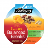 Sargento® Sunrise Balanced Breaks® with Medium Cheddar Cheese, Maple-Flavored Pumpkin Seeds and Raisins