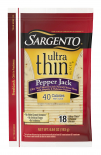 Sargento® Pepper Jack Natural Cheese Ultra Thin® Slices