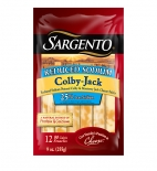 Sargento® Reduced Sodium Colby-Jack Natural Cheese Sticks