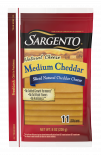 Sargento® Sliced Medium Natural Cheddar Cheese