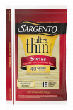 Sargento® Swiss Natural Cheese Ultra Thin® Slices