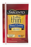 Sargento® Sharp Natural Cheddar Cheese Ultra Thin® Slices