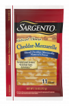 Sargento® Sliced Cheddar-Mozzarella Natural Cheese