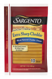Sargento® Sliced Extra Sharp Natural Cheddar Cheese