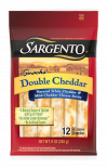 Sargento® Natural Double Cheddar Cheese Snack Sticks