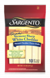 Sargento® Vermont Sharp White Natural Cheddar Cheese Sticks