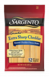 Sargento® Extra Sharp Natural Cheddar Cheese Snack Sticks