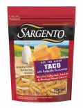 Sargento® Shredded Taco Natural Cheese with Authentic Seasonings