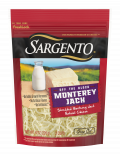 Sargento® Shredded Monterey Jack Natural Cheese